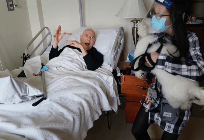 Residents of a bronx nursing home